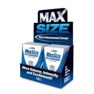 Maxsize Homme Enhncmt Crm, 7 ml (pack de 24)