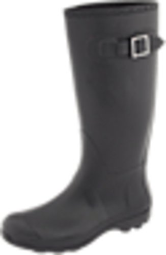 Kamik Women's Olivia Rain Boot,Black,8 M US