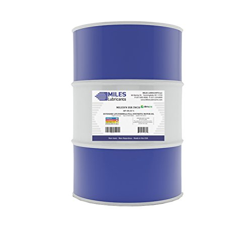 Milesyn SXR 5W20 API GF-5/SN, Full Synthetic Motor Oil 55 Gallon Drum by MILES LUBRICANTS