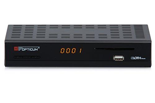 Opticum SLOTH Classic HD DVB-S/S2 Digital IP Receiver (HDTV, DVB-S2, HDMI, SCART, IPTV, LAN, USB)