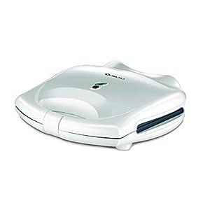 Bajaj Majesty New SWX-3, 2-Slice Sandwich Toaster (White)