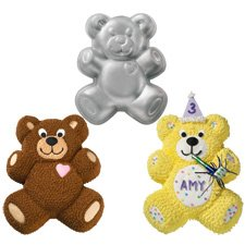 Teddy Bear Shaped Cake Pan Wilton