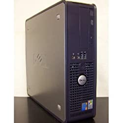 Dell GX620 SFF Desktop Computer, Powerful Intel 2.8GHz processor is included, LGA 775 CPU, Super Fast 2GB Interlaced DDR2 Memory, VGA Onboard Video, Fast 80GB SATA Hard Drive, DVD/CDRW Burn CD's and Play DVD's, Crystal Clear VGA Video, Intregrated Nic/Audio, XP Professional with COA