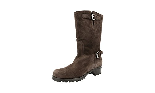 Prada Women's 1U348E XTY F0003 Leather Half-Boot Z1uCqX0TC