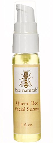 Rare Essential Oils Queen Bee Facial Serum By Bee Naturals - THE BEST At Reducing Wrinkles and Fine Lines - Contains Luxurious Essential Oils Like Tamanu and Heliocarrot- Anti-Aging Formula Hydrates a