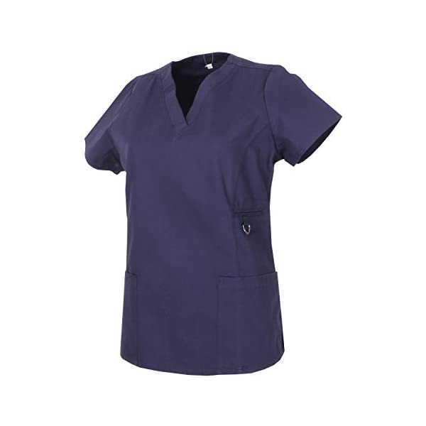 MISEMIYA Medical Uniform Scrub Top Camisa de Sanitario Unisex Adulto 2