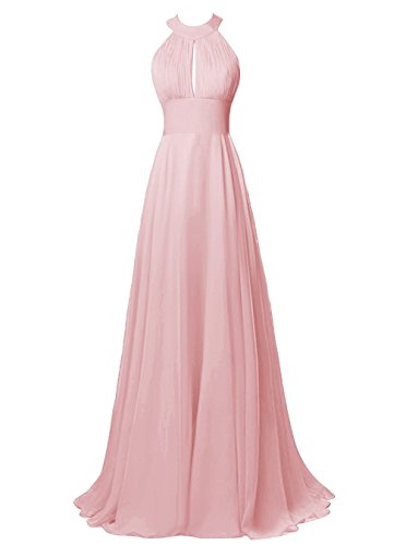 bridesmaid dresses by color pink - 6