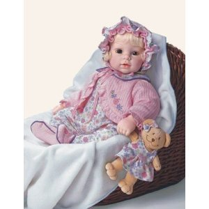 Price comparison product image Adora 2007 Name Your Own Baby Girl Doll 048H20593