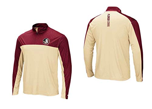 Florida State Seminoles Adult Luge 1/4 Zip Windshirt - Team Color, Large