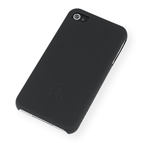 QIOTTI Q. à Curves snapcase pour iPhone 4/4S–Noir
