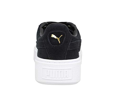 Negro Platform Zapatillas Black Suede Bling Puma Mujer TX1xaw