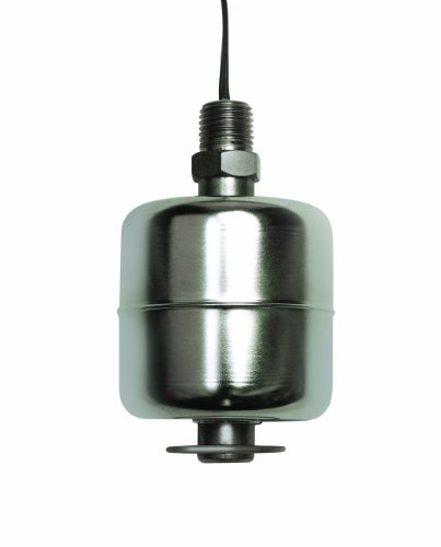 (Madison M5600 316 Stainless Steel Full Size Liquid Level Switch with Stem, 60 VA SPST, 1/4