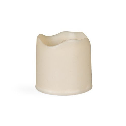Gerson Wax Covered Plastic Votive, 2 by 2-Inch
