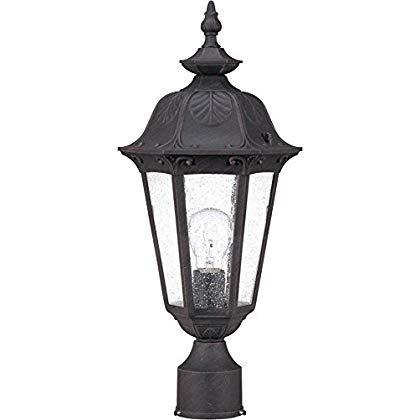 Nuvo Lighting 60/2039 One Light Post Lantern [並行輸入品] B07J4KS1VB
