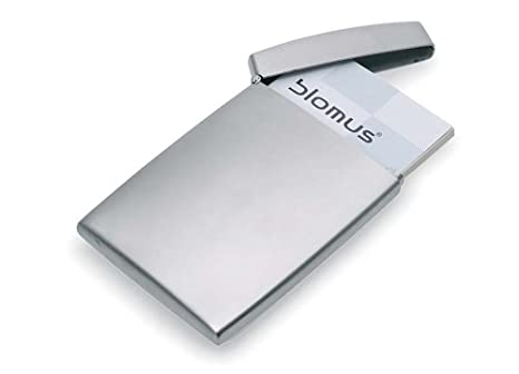 Blomus stainless steel business card holder amazon home kitchen blomus stainless steel business card holder reheart Gallery