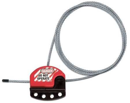 Safety Series S806 3' Steel Cable Lockout