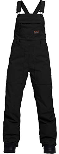 Burton Avalon Bib Snowboard Pants True Black Womens Sz M