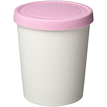 Tovolo Tight-Fitting, Stack-Friendly, Sweet Treat Tub, Pink