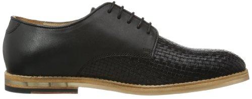 Hudson Hadstone K402010 - Zapatos de cuero para hombre, color negro, talla 40 Negro (Schwarz (Black))