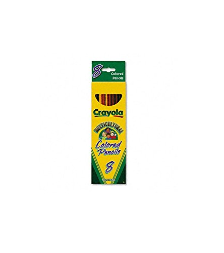 Crayola Multicultural Eight Color Pencil Pack