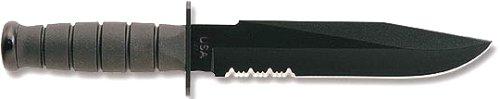 Ka-Bar 2-1271-0 Black Fighting Knife, Outdoor Stuffs
