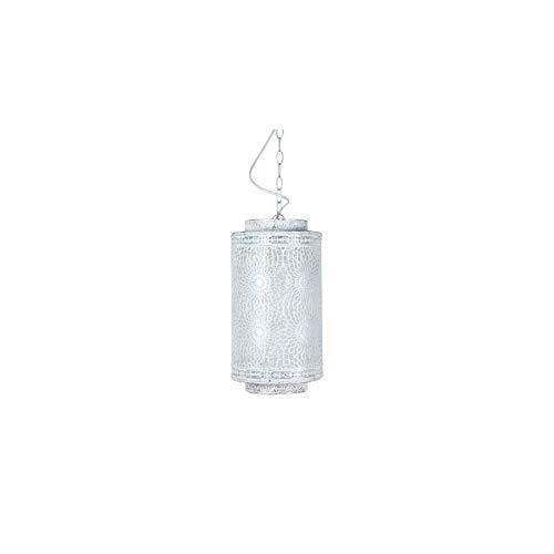 Art Deco Home - Deckenlampe, weiss, 35 cm - 15958SG