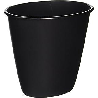 STERILITE Black 10119012 1.5GAL Wastebasket, 1.5 Gallon