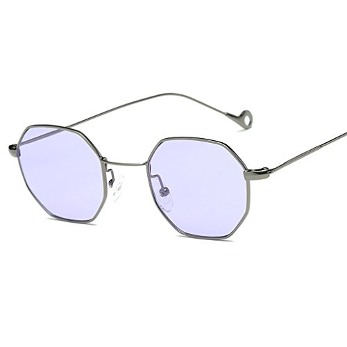 Niceskin Square Sunglasses Fashion Shades for Men Women, Metal and Resin - Vintage Versace Sunglasses