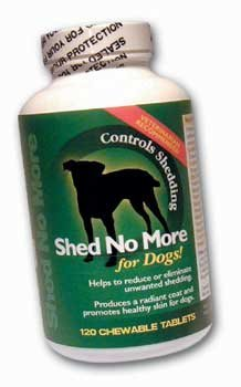 Petlabs 360 Shed No More for Dogs! Beef and Cheese Flavor - 120 Chewable Tabs Healthcare & Supplements