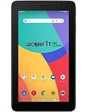 Alcatel 1T 7 WLAN (2021) - Tablet-PC met 17,8 cm (7 inch), Quadcore, 1 GB RAM, uitbreidbaar via MicroSD, tot 128 GB, 2580 mAh accu, Android 10 (Go Edition), zwart