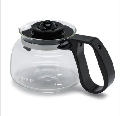 Mr. Coffee® Universal Glass 4-cup Carafe, Black