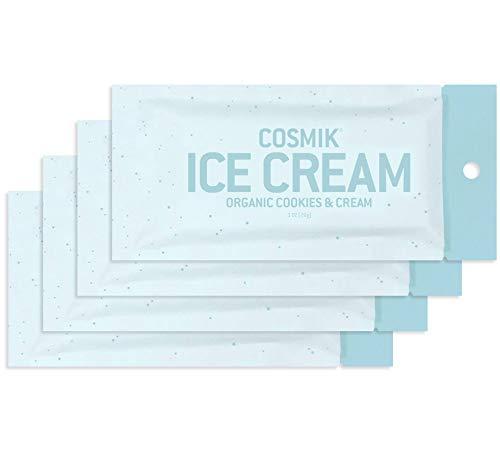 COSMIK Freeze Dried Ice Cream - Organic Cookies & Cream 4 Pack
