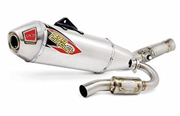 Pro Circuit T-6 Stainless Replacement Exhaust for Suzuki RM-Z450 2015-2016 by Pro Circuit Racing