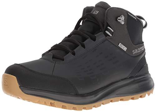 Salomon Men's Kaïpo CS Waterproof 2 Hiking Boot, Black/Phantom/Monument, 7 D US