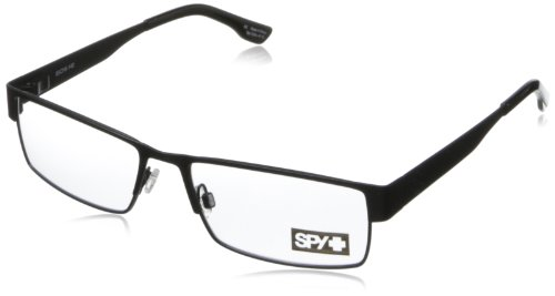 Spy Elijah Rectangular Eyeglasses,Matte Black,55 - Optic Eyeglasses
