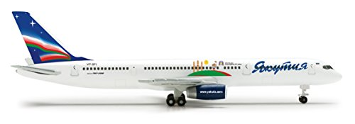 Daron Herpa Yakutia 757 200 Children Of Asia Diecast Aircraft  1 500 Scale