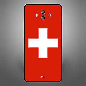 Huawei Mate 10 Switzerland Flag