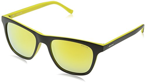 Gold Black Police Yellow de Lens Homme 1 Semi Wayfarer HOT Lunette Matt soleil 1 amp; Frame Hot Mirror HHnpxrqZwP