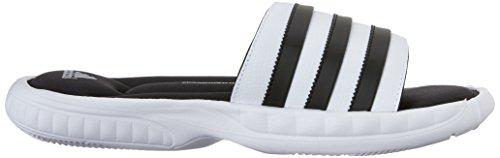Adidas Performance Sandale Pour Homme Superstar 3g Blanc / Noir / Argent