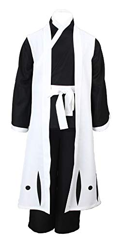 Chong Seng CHIUS Cosplay Costume Outfit for Gotei 13 Squad 2nd Division Captain SOI Fon V4 -