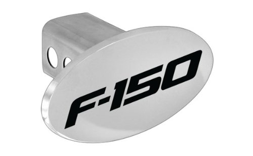 Ford F-150 F150 Metal Trailer Hitch Cover Plug (2 inch Post)