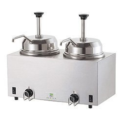 Server Products TWIN HOT FUDGE WARMER 81230 by Server Products