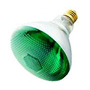 (Havells-SLI 03042 - 100BR38/GREEN - 100 Watt BR38 Incandescent Flood Light Bulb, Green)