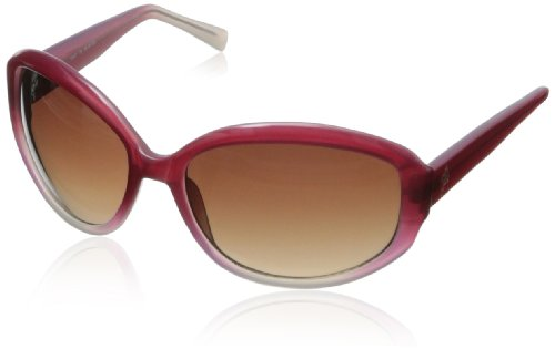 Cole Haan Women's C 617 70 Oval Sunglasses,Tango Red,58 mm (Cole Haan Women Sunglasses)