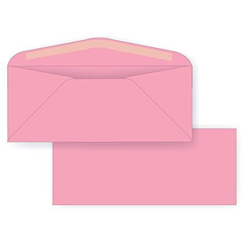 Wholesale #10 Regular Envelope - Pastel - 24# Light Pink (4 1/8 x 9 1/2) - Soft-hued Business Envelope Series (Box of 500) supplier