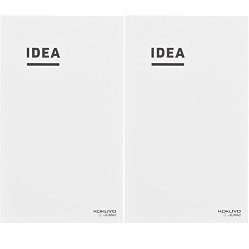 "Pk/2 Kokuyo Idea Grid Notebooks, B6 Slim 7.17"" x 4.25"", Tomoe River Paper"