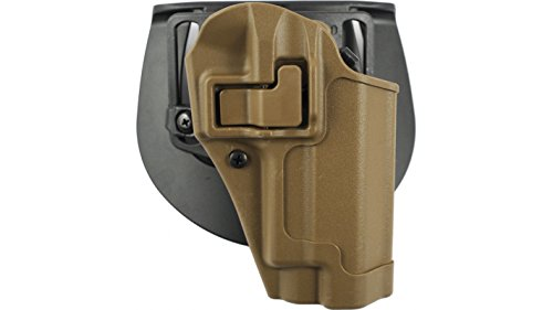 - BlackHawk CQC™ Concealment Holster Matte Finish SIG P220/226/225, MK25 w, w/o STD Rails (Not ES), Coyote Tan, Right Hand