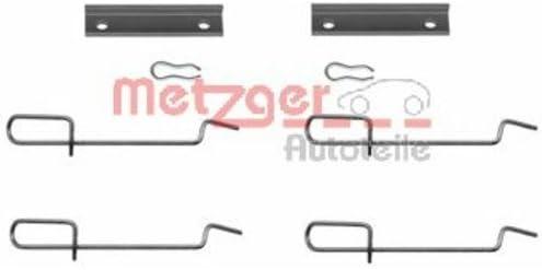 Metzger 109 1125 Zubehörsatz Scheibenbremsbelag Auto