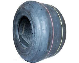 Kart Kart Practice/Fun Slick Rear Tyre 4.5 x 10 5 Duro