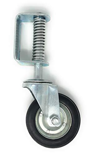 New 6 Inch Spring Loaded Swivel Wheel Heavy Duty 14